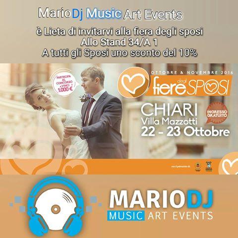 Mario Pompeiani Dj - dj per matrimoni, eventi, compleanni, discoteche, sagre, fiere