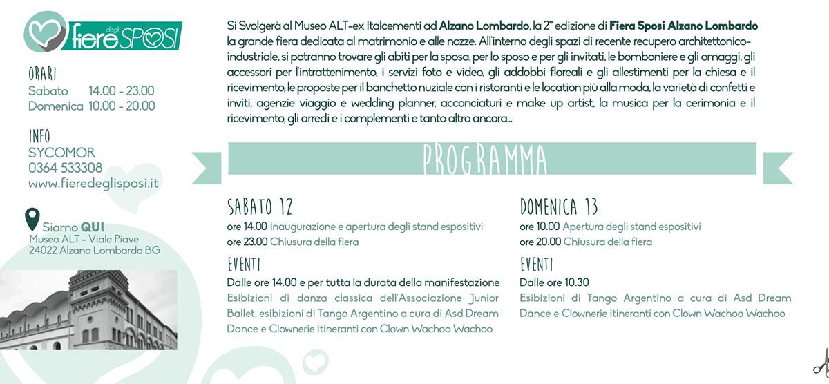 Alzano_retro Fiere degli sposi - 12/13 Novembre ad Alzano Lombardo stand 43 B Mario Pompeiani Dj - Matrimoni, eventi, congressi, meeting aziendali, compleanni, sagre e fiere matrimonio a bergamo