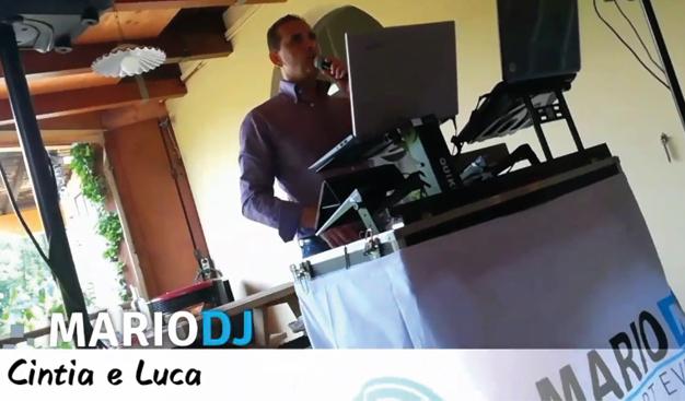 wsedding-cintialuca Produzioni Video Mario Pompeiani Dj - Matrimoni, eventi, congressi, meeting aziendali, compleanni, sagre e fiere matrimonio a bergamo