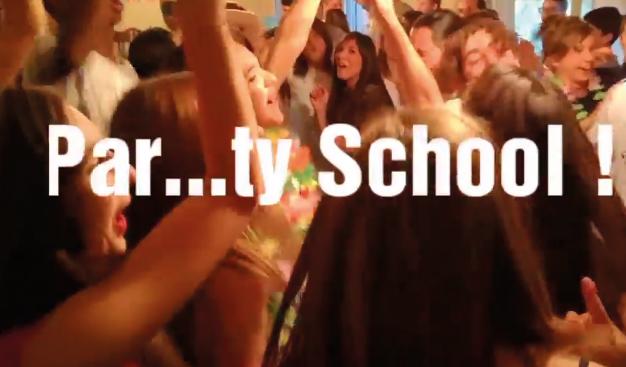 party-school Produzioni Video Mario Pompeiani Dj - Matrimoni, eventi, congressi, meeting aziendali, compleanni, sagre e fiere matrimonio a bergamo